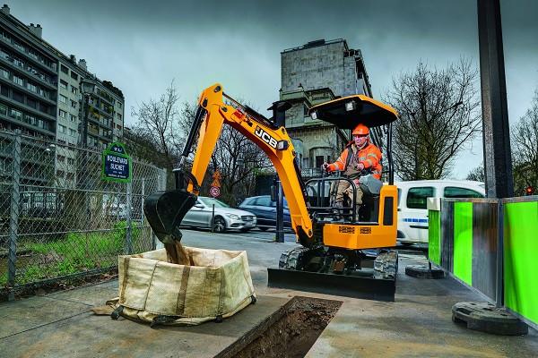 2021 JCB 18Z-1 Mini Excavator (No Series) Image 3
