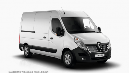 Renault MASTER Van 2018 Plate Clearance - Long Wheelbase FWD Auto