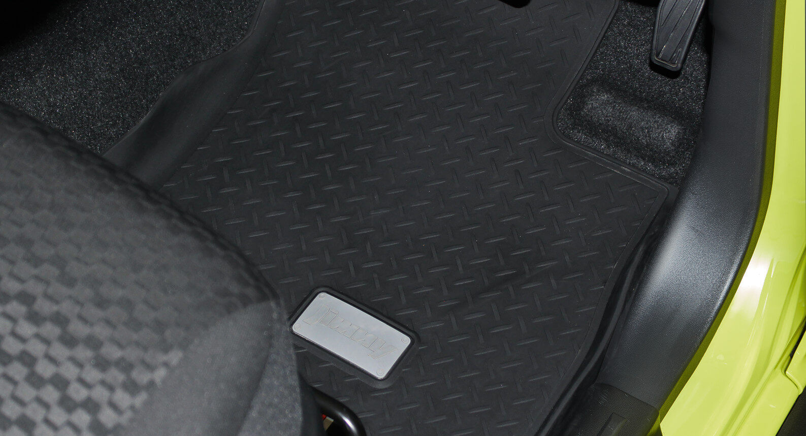 "Jimny - Rubber Floor Mat Set ""ECO"", 4pc"