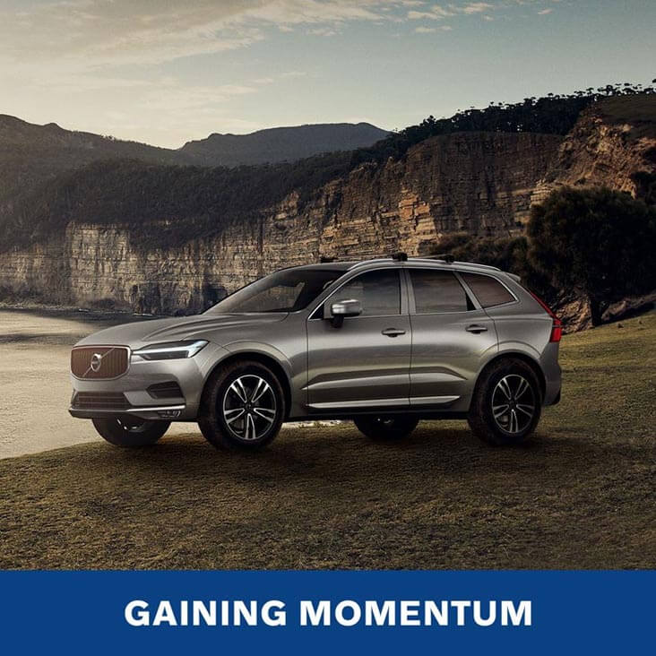 GAINING MOMENTUM - Volvo XC60