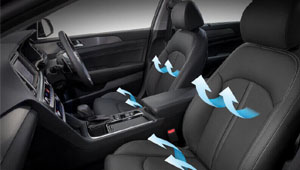Sonata Ventilated front seats.