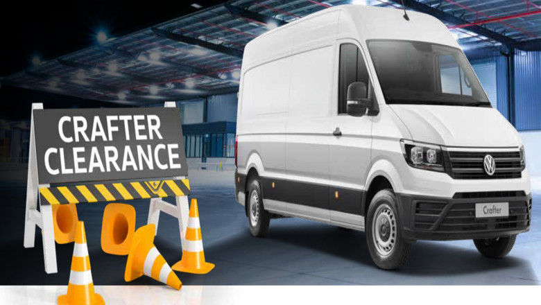 Volkswagen Crafter Clearance