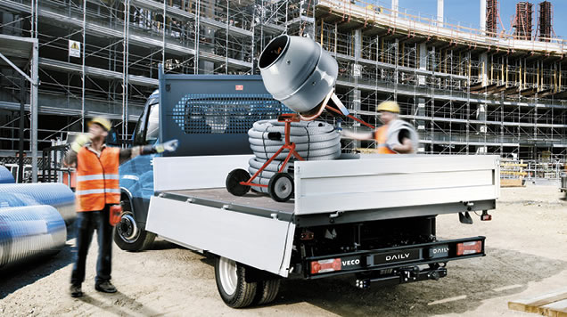 Daily Cab Chassis Applications