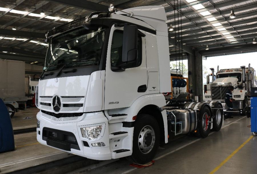2018 Mercedes-Benz Actros CLASSIC SPACE SLEEPER 2643 Prime mover