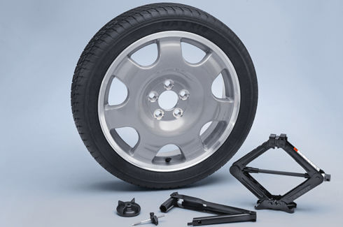 Spare Wheel Kit Less GT