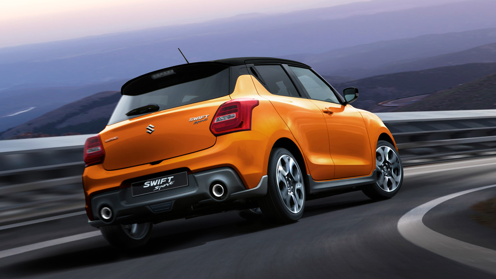 Swift Sport Made to be driven