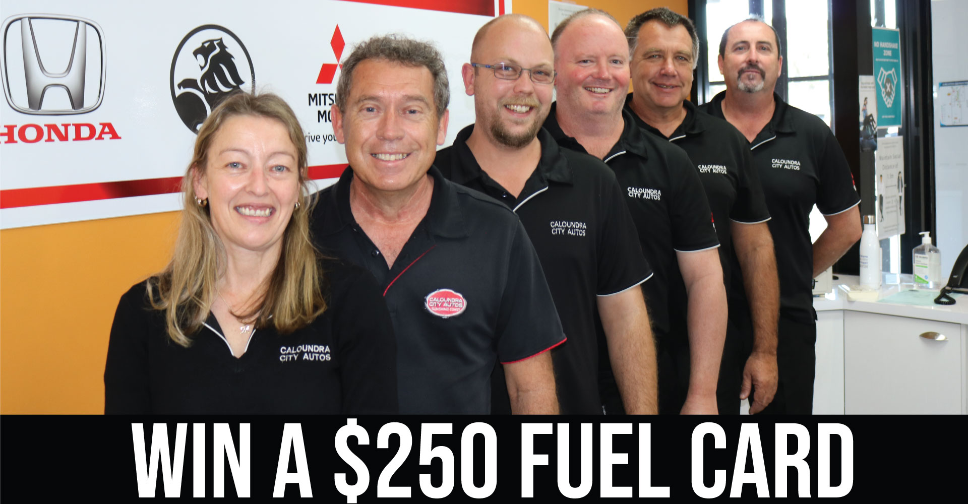 BOOK YOUR NEXT LOGBOOK SERVICE TODAY FOR THE CHANCE TO WIN $250 FUEL CARD