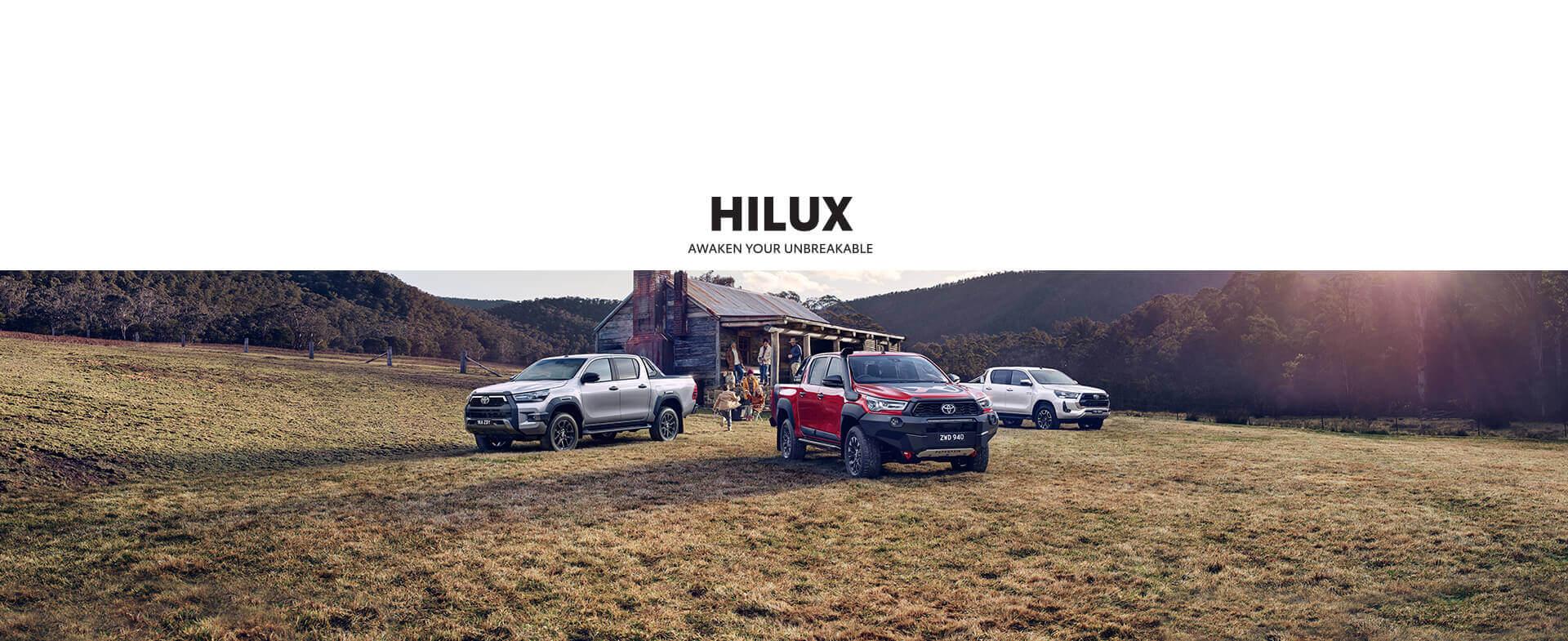 HILUX - AWAKEN YOUR UNBREAKABLE