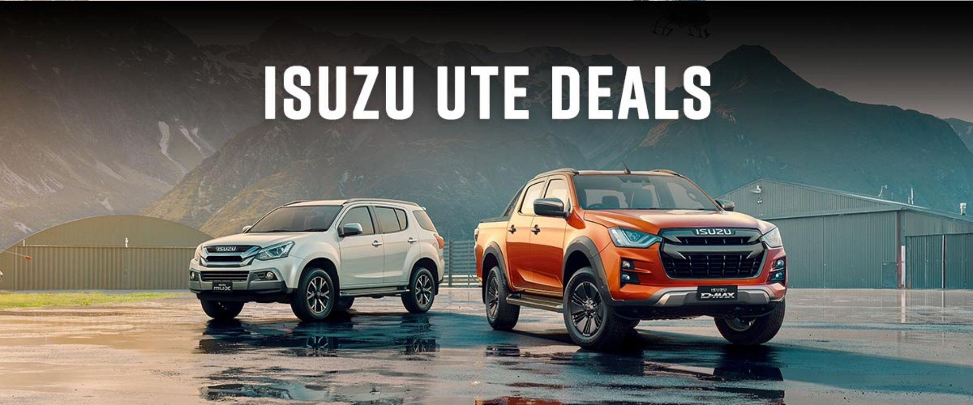 See our latest Isuzu UTE Offers and Specials