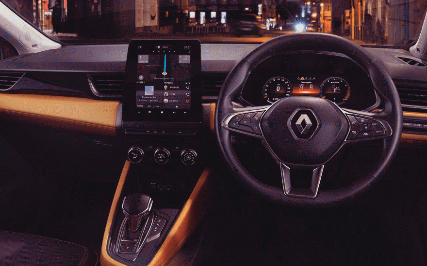 Captur A sleek, intuitive interior