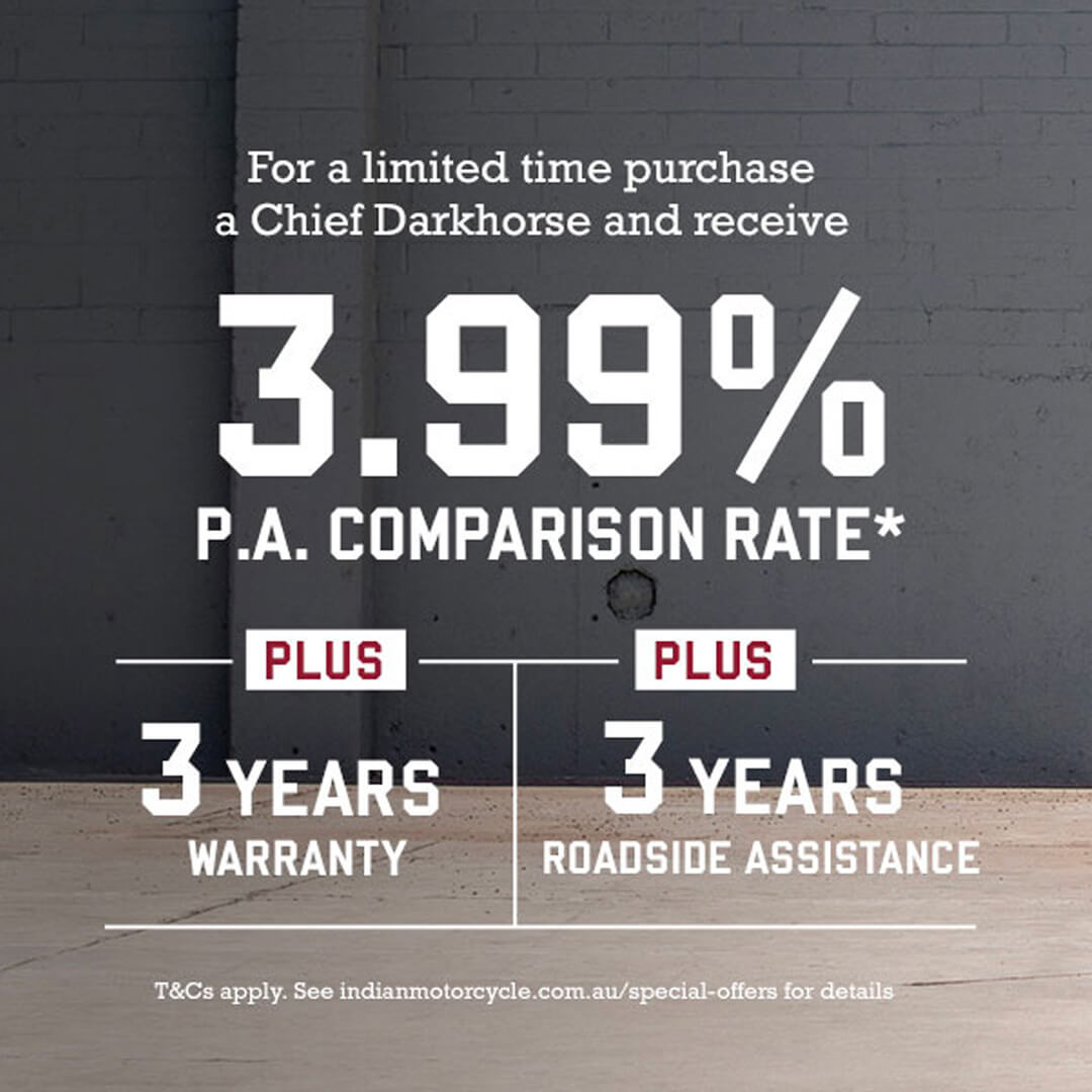 Chief Darkhorse Finance Offer