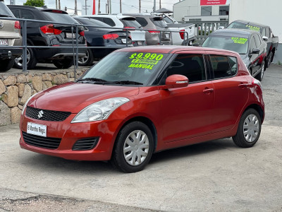 2012 Suzuki Swift FZ GL Hatchback