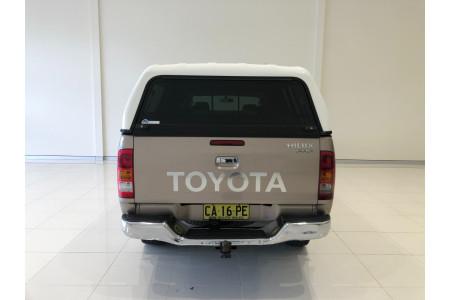 2006 Toyota HiLux KUN26R Turbo SR5 4x4 dual cab Image 5