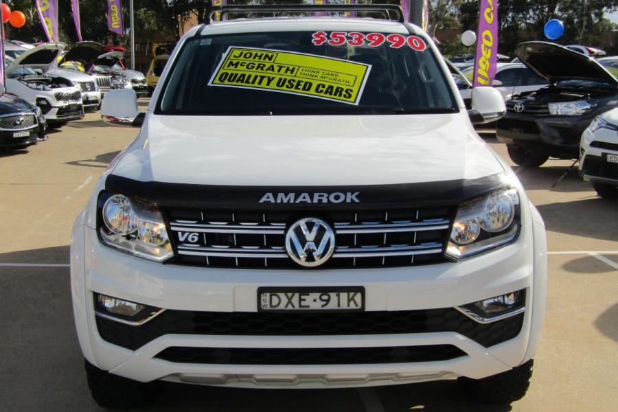 2018 Volkswagen Amarok 2H  TDI550 Sportline Dual cab Image 8