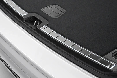 Tailgate scuff plate, stainless steel Image