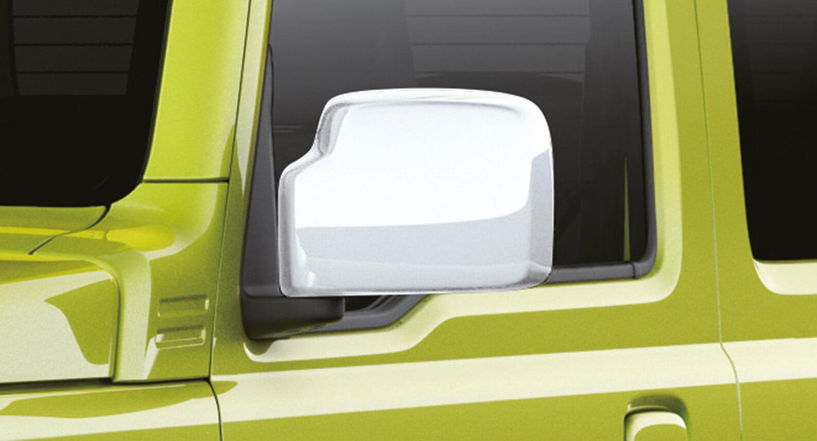Jimny - Door Mirror Cover, White