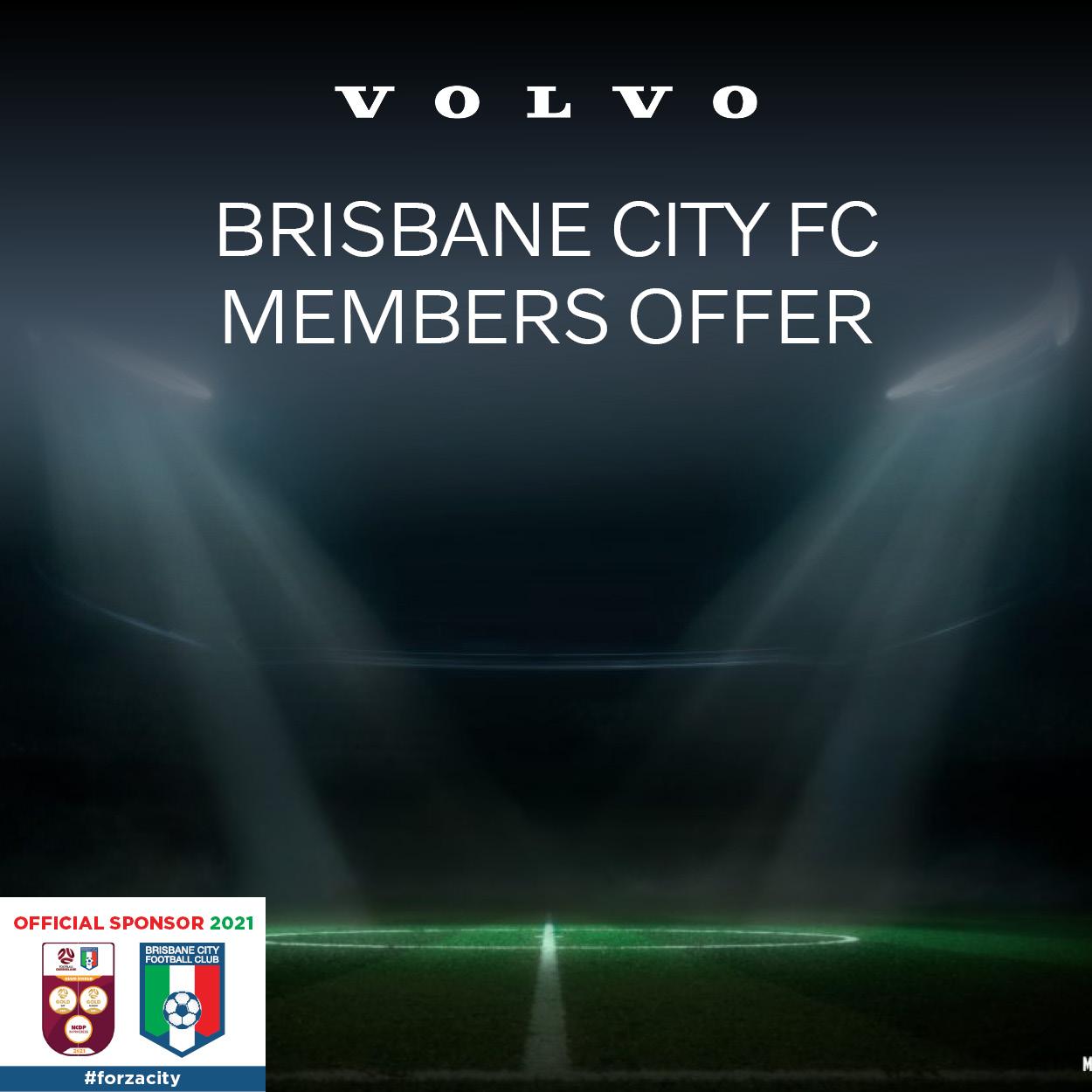 Exclusive Brisbane City FC Members Offer