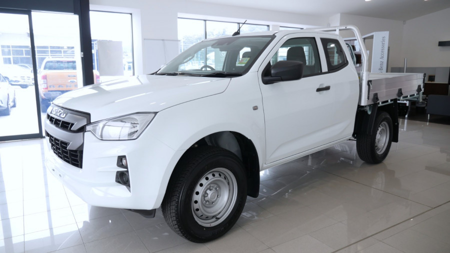 2020 MY21 Isuzu UTE D-MAX SX 4x4 Space Cab Chassis Cab chassis Image 22