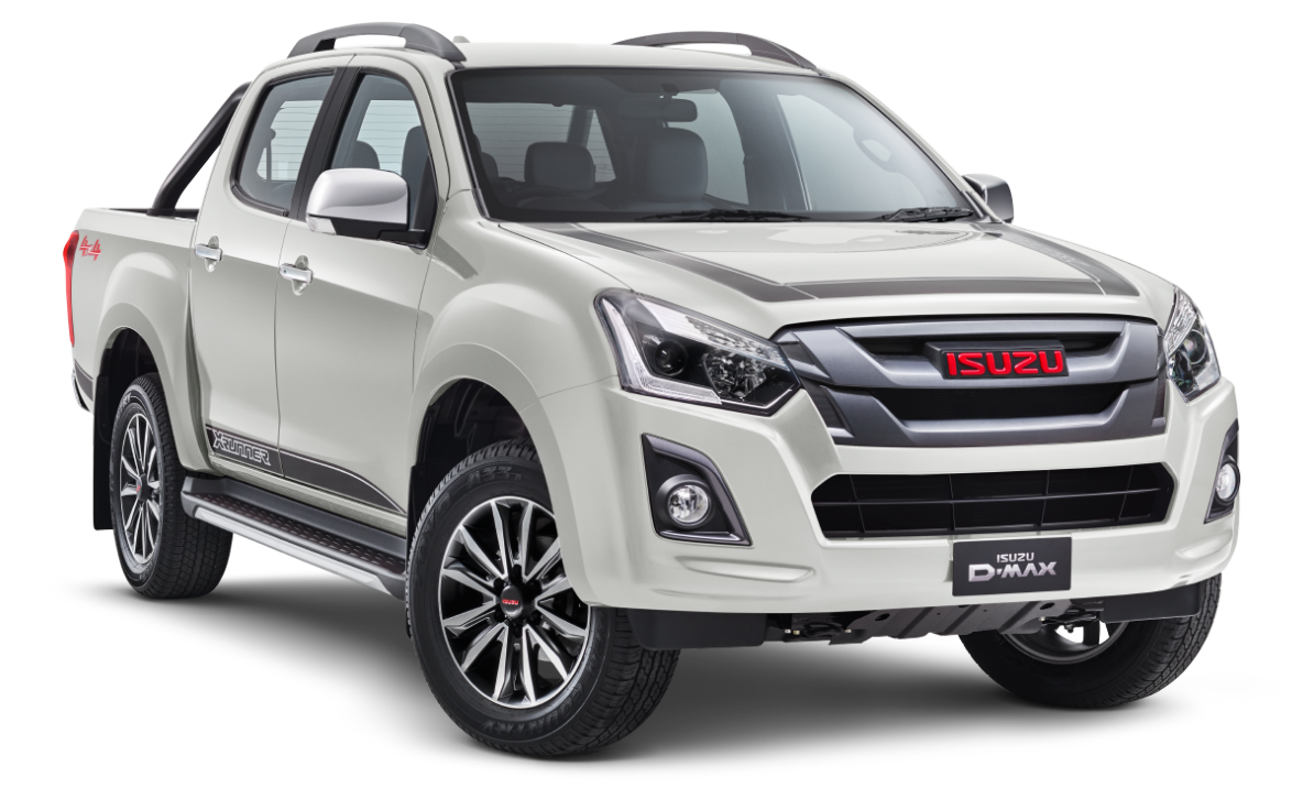 LIMITED EDITION D-MAX 4X4 X-RUNNER