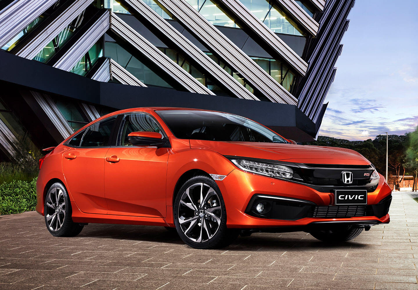 Civic Sedan Bold Design