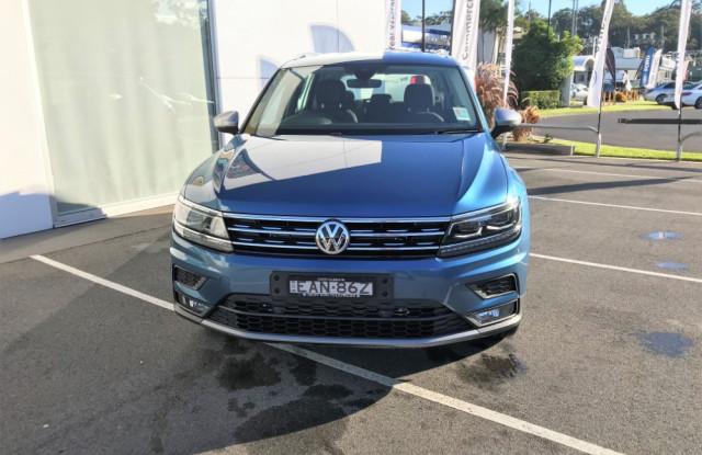2018 Volkswagen Tiguan 5N Allspace Comfortline 4 motion wagon