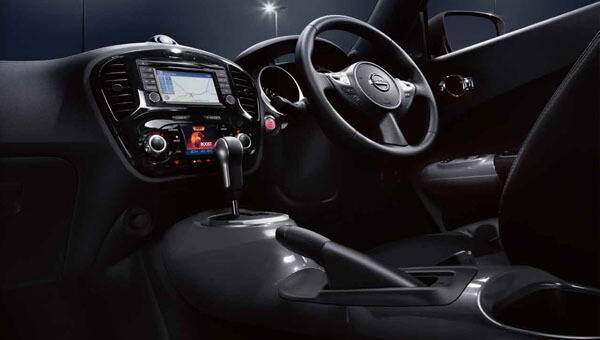 JUKE Interior thrills