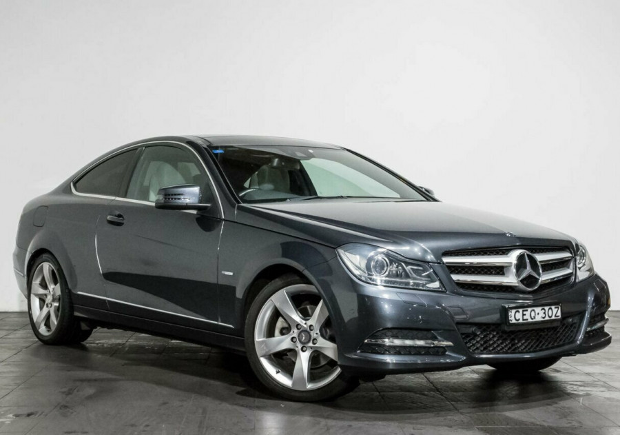 2012 Mercedes-Benz C250 C204 BlueEFFICIENCY 7G-Tronic + Coupe