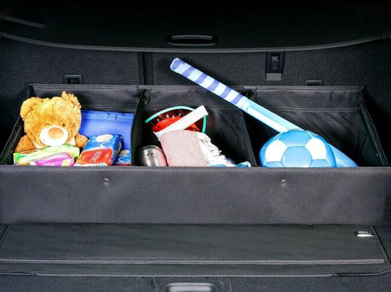 Luxury cargo organiser