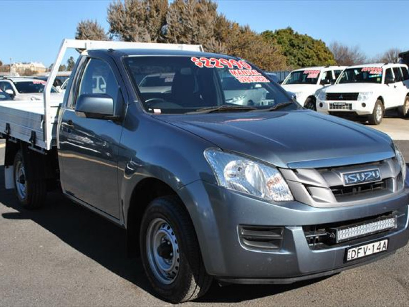used 2016 isuzu ute d-max sx #13430 cooma, snowy mountains - high