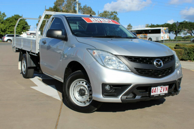 2013 Mazda BT-50 UP0YD1 XT 4x2 Cab chassis