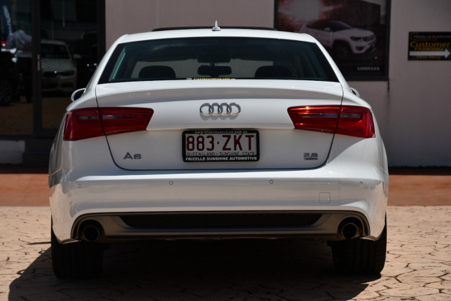 2012 Audi A6 4G 4G Sedan