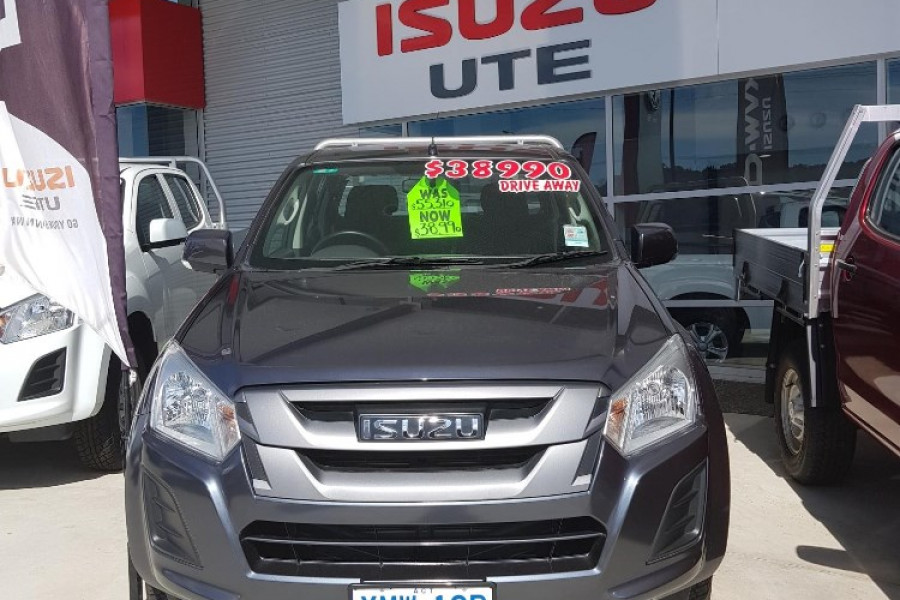2017 MY18 Isuzu UTE D-MAX 4x4 SX Crew Cab Chassis Cab chassis