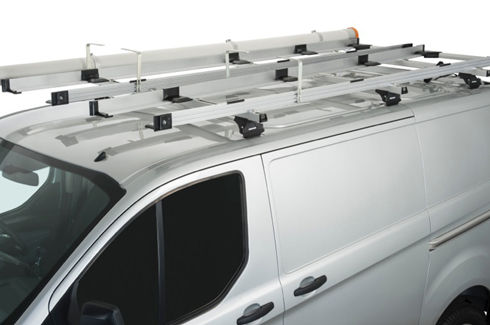 Carry Bar Ladder Rack System - Rhino- Rack with Conduit