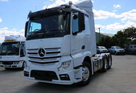 Mercedes-Benz EX DEMO BARGAIN Actros Sleeper cab 2653 6X4 PRIME MOVER