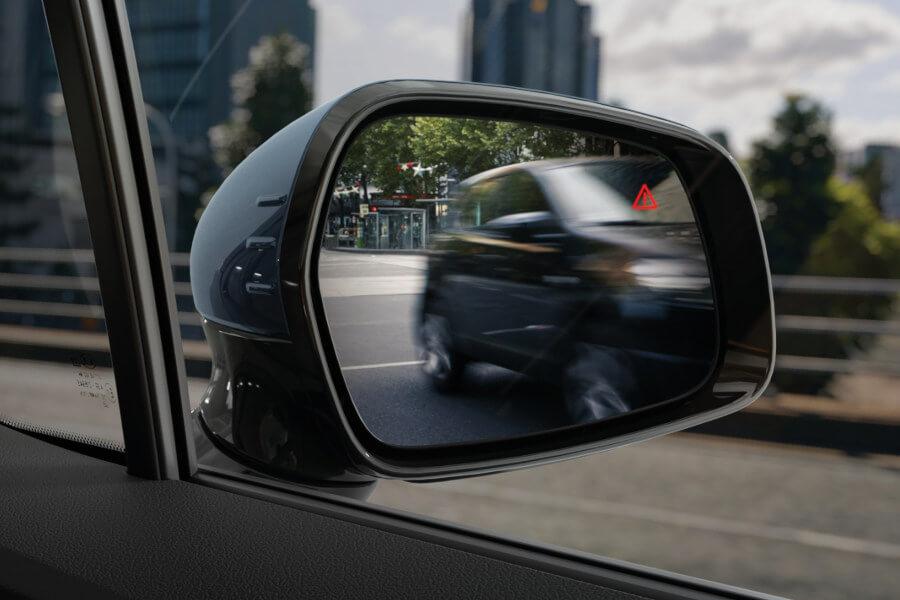 Blind Spot Collision Avoidance Assist