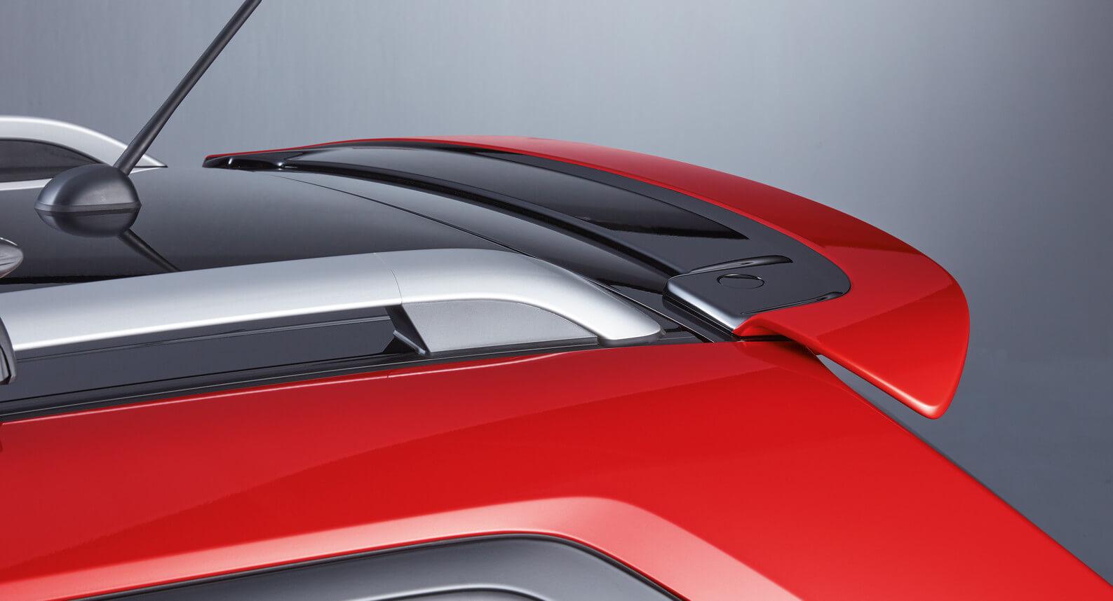 Ignis - Roof Edge Spoiler, Fervent Red
