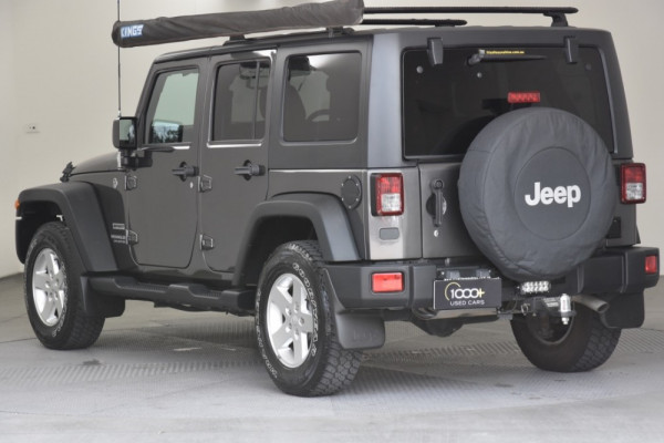 2016 Jeep Wrangler JK MY2016 Unlimited Softtop Image 3