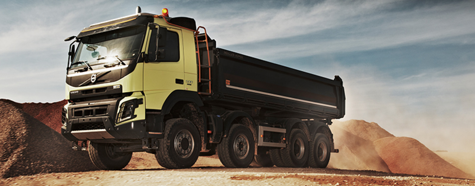 The new Volvo FMX