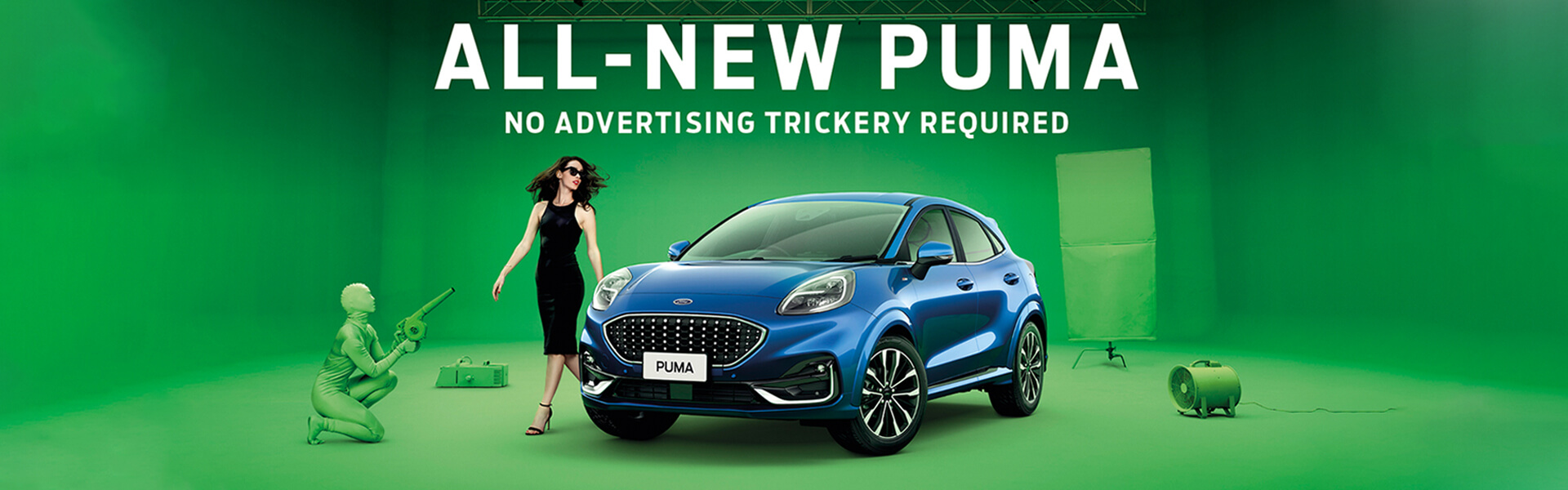 The all-new Ford Puma. No advertising trickery required.