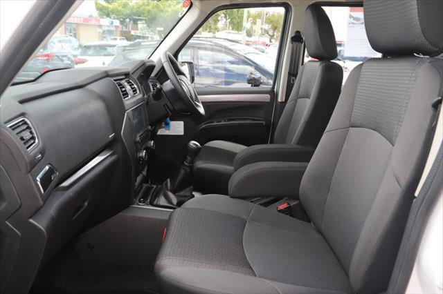 2020 MY19 Mahindra Pik-Up Dual Cab 4x4 S10 Black mHawk Utility