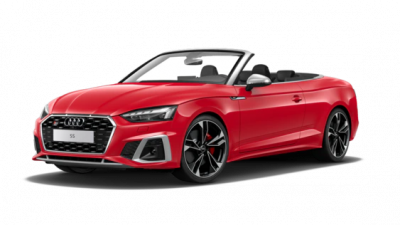 New Audi S5 Cabriolet
