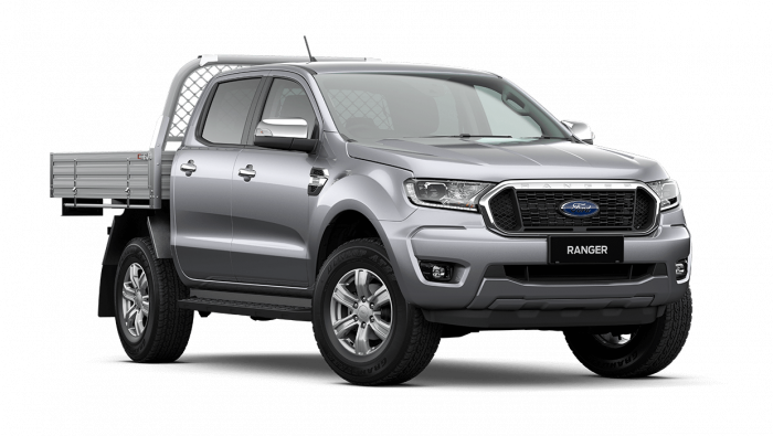 2020 MY21.25 Ford Ranger PX MkIII XLT Double Cab Chassis Cab chassis Image 1