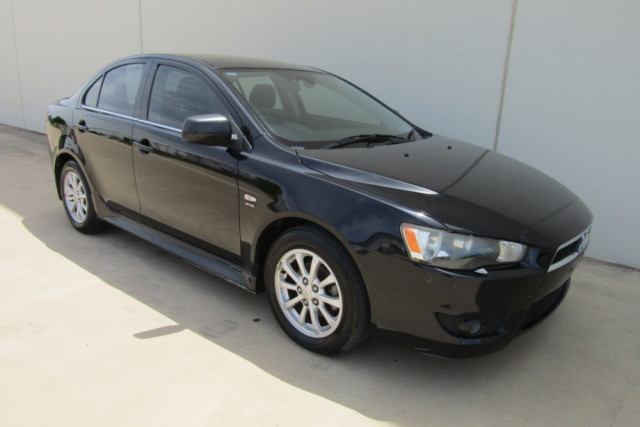 2010 MY11 Mitsubishi Lancer CJ MY11 VR Sedan