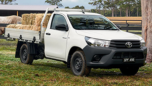HiLux Modern, masculine and undeniably tough.