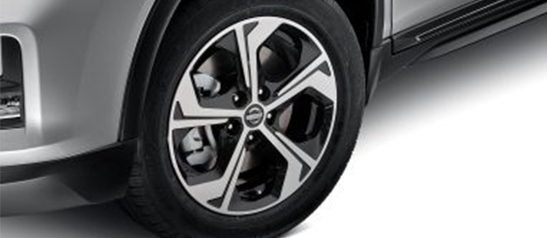 "Alloy wheels (17"" flow)"