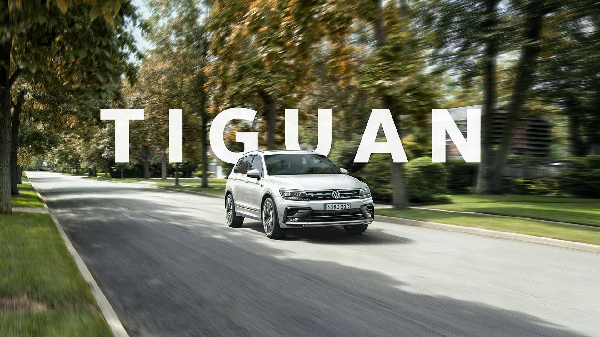 Tiguan The grown-up SUV for those who aren't ready to grow up.