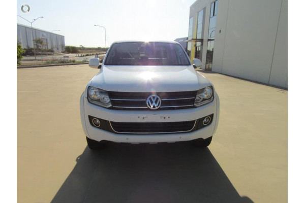 2013 MY14 Volkswagen Amarok 2H MY14 TDI400 Cab chassis Image 4