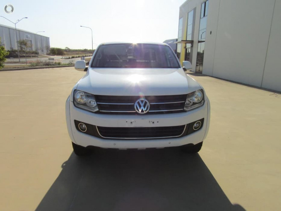 2013 MY14 Volkswagen Amarok 2H MY14 TDI400 Cab chassis Image 4