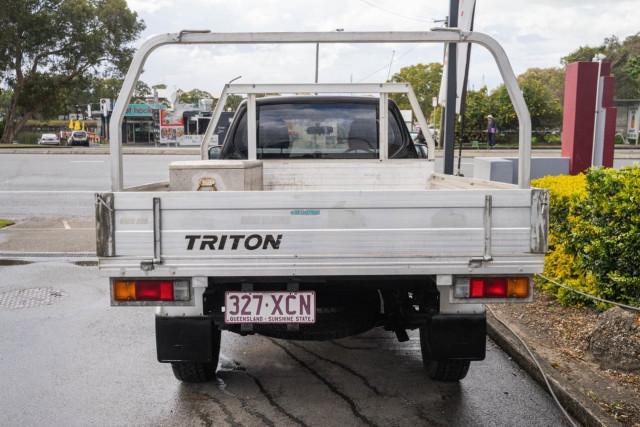 2011 Mitsubishi Triton MN MY11 GL Cab chassis