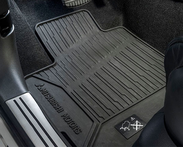 Rubber mat set - front and rear
